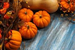 Fall und Halloween-Hintergrund Lizenzfreie Stockbilder