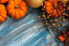 Fall und Halloween-Hintergrund stockfoto