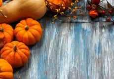 Fall und Halloween-Hintergrund stockbild