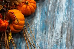 Fall und Halloween-Hintergrund stockbilder