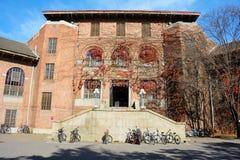 Fall university campus royalty free stock image