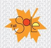 Fall-Verkauf Stockfotografie