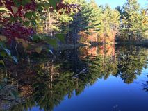 Fall. In Vermont Royalty Free Stock Photos