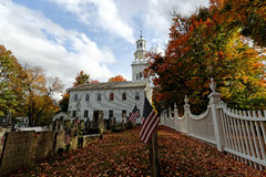 Fall in Vermont. Photo of a church in Vermont during fall time Stock Photos