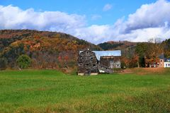 Fall in Vermont. royalty free stock images