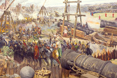Fall von Konstantinopele Lizenzfreies Stockbild