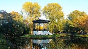 Fall in the Vondelpark in Amsterdam Netherlands. Fall in the Vondelpark in Amsterdam the Netherlands Stock Photos