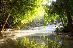 Fall water scape Royalty Free Stock Photography