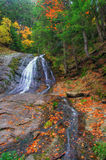 Fall- waterfall in canyon near Smolyan royalty free stock photo