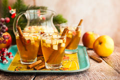 Fall and winter drink Royalty Free Stock Photography