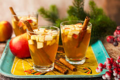 Fall and winter drink Stock Photo