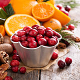 Fall and winter ingredients still life Royalty Free Stock Image