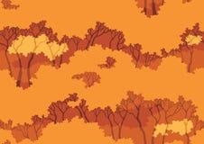 Fall wood background Stock Image