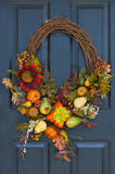 Fall Wreath Stock Photos