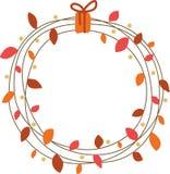 Fall Wreath Royalty Free Stock Photo
