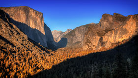 Fall in Yosemite Valley Royalty Free Stock Photo