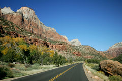 Fall in Zion Royalty Free Stock Images