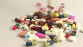 Falla för medicin lager videofilmer
