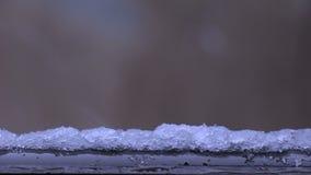 Falla för snö lager videofilmer