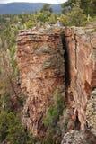 Falla o fractura en la tierra Imagen de archivo