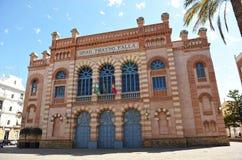 Falla-Theater, Karneval von Cadiz, Andalusien, Spanien stockfoto