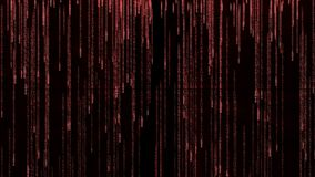 Fallande bakgrund för ord som FÖRÄLSKELSE simulerar matriseffekten stock illustrationer