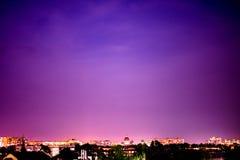Fallande himmel Arkivfoton