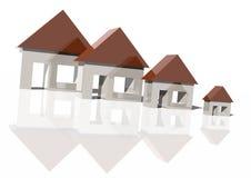 fallande husmarknad