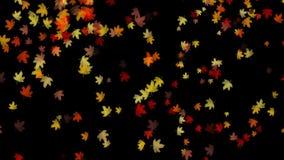 fallande leaves för bakgrund stock illustrationer