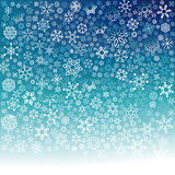 Fallande snöflingor Royaltyfria Bilder