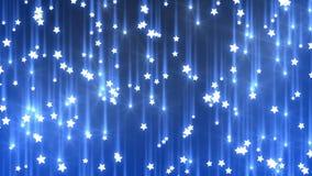 Fallande stjärnor stock illustrationer