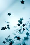fallande stjärnor för jul Royaltyfri Bild