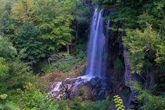 Fallande vårvattenfall, Covington, Virginia Fotografering för Bildbyråer