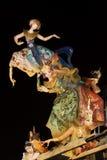 Fallas 2008, Valencia, Spagna Immagini Stock Libere da Diritti