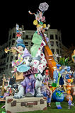 Fallas 2012 - 5th in Secció Especial Royalty Free Stock Photography