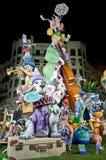 Fallas 2012 - quinto nel ³ di Seccià particolare Fotografia Stock Libera da Diritti