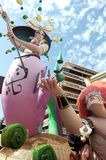 Fallas of Alicante, 24 June 2.014 Stock Photography