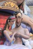 Fallas a celebrazione di Valencia, Spagna Fotografie Stock Libere da Diritti