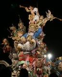 Fallas de Valence - Espagne Photo stock