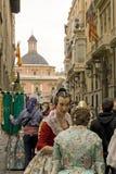 Fallas de Valence l'espagne Photographie stock libre de droits
