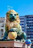 Fallas fest cijfers in Valencia traditioneel Spanje Stock Foto