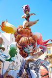 Fallas fest figures in Valencia traditional Spain Stock Images
