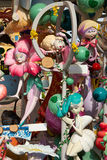 Fallas fest popular figures will burn in March 19 Royalty Free Stock Photo