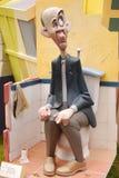 Fallas - figures drôles colorées Image stock