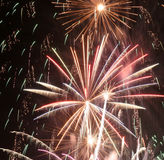 Fallas fireworks Stock Photo