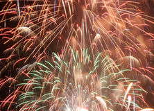 Fallas Fireworks Stock Images