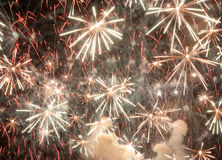 Fallas fireworks Stock Image