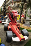 Fallas - Formel 1 Lizenzfreies Stockbild
