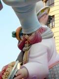 Fallas skulpturer Royaltyfri Bild