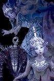 Fallas skulpturer Royaltyfri Fotografi